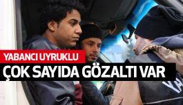 İstanbul polisi, Çok Sayıda  Yabancı Uyruklu Şahsı Gözaltına Aldı