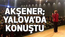 Meral Akşener,Yalova'da Konuştu