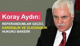 """""""Partili Cumhurbaşkanlığı Demokrasinin Özüne Aykırıdır"""""""