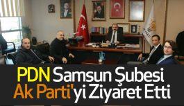 PDN Samsun Şubesi Ak Parti'yi Ziyaret Etti