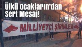 Samsun Ülkü Ocakları, Türk Düşmanlarına İnat Stadyuma Çağırdı!