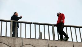 Samsun'da intihar girişimi
