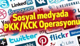 Sosyal medyada PKK/KCK Operasyonu