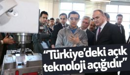"""""""Türkiye'deki açık teknoloji açığıdır"""""""