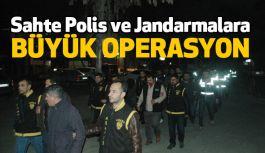 Vatandaşı Dalandıran Sahte Polis ve Jandarmalara Operasyon