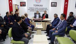 AK Parti Grup Başkanvekili Bostancı, TÜRKAV'ı Ziyaret Etti