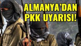 Almanya'dan 16 Nisan Öncesi PKK Terörü uyarısı!