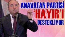 ANAP: Referandum da kararımız, hayır