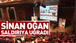 Bahçesaray Üniversitesi'nde Sinan Oğan'a Saldırı