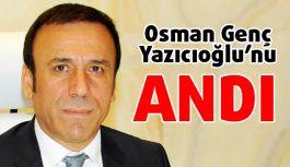Başkan Osman Genç, Muhsin Yazıcıoğlu'nu andı