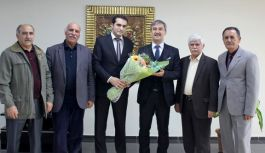 Başkan Şirin'e Azerbaycan Kültür Derneği'nden Teşekkür Ziyareti