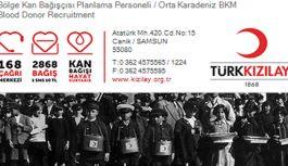 """""""BİR KAN BİR FİDAN PROJESİ"""" FİDAN DAĞITIMI"""