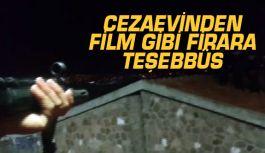Buca cezaevinden Film Gibi Firara Teşebbüs