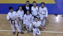 Canik'li judocular gururlandırdı