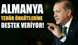 Erdoğan: Almanya Terör Örgütlerine Destek Veriyor