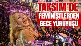 Feministlerden Gece Yürüyüşü