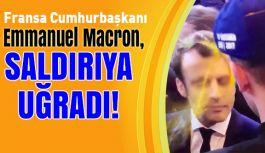 Fransa Cumhurbaşkanı adayı saldırıya uğradı