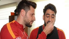 Galatasaray, çift antrenman yaptı