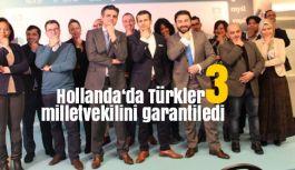 Hollanda'da Türkler 3 milletvekilini garantiledi