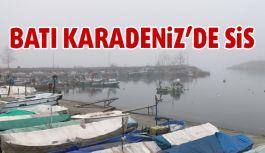 Karadeniz'de Yoğun Sis