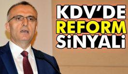KDV'de reform sinyali