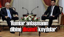 KKTC Başbakan Özgürgün, Başbakanı Yıldırım ile bir araya geldi