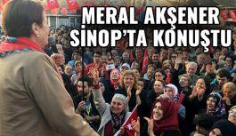 Meral Akşener Sinop'ta Konuştu