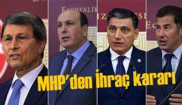 MHP'den İhraç kararı