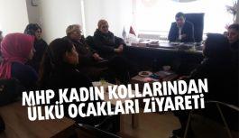 MHP İl Kadın Kollarından Ülkü Ocaklarına Ziyaret