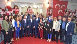 MHP Kozan İlçe Başkanlığı Olağan Kongresini Gerçekleştirdi