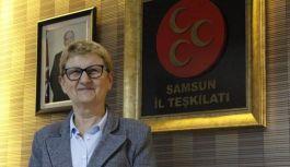 MHP Samsun İl Kadın Kolları Başkanı Yüksel Ünal'dan 8 Mart Dünya Kadınlar Günü