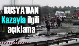 Rusya'dan Helikopter Kazasıyla İlgili Açıklama