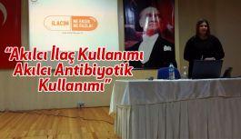 Samsun'da Akılcı İlaç Kullanımı Semineri