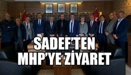 Samsun Dernekler Federasyonu (SADEF)  MHP'yi Ziyaret Etti