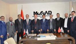 Samsun İl Milli Eğitim Müdürü Coşkun Esen, Müsiad'ı Ziyaret Etti