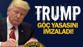 Trump, yeni göç yasasını imzaladı
