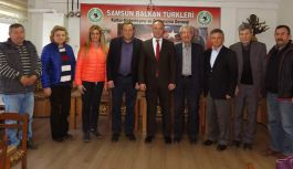Tufan Akcagöz,  Balkan Türkleri Derneği'ni Ziyaret Etti.
