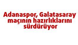 Turuncu-beyazlılar,  Galatasaray maçının hazırlıklarını sürdürüyor