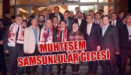Tuzla'da Muhteşem Samsunlular Gecesi