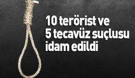 Ürdün'de, 10 terörist idam edildi