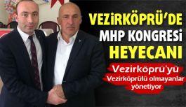 Vezirköprü'de MHP'nin Kongresi Yapıldı