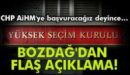 Adalet Bakanı Bekir Bozdağ'dan AİHM açıklaması