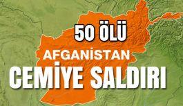 Afganistan'da askeri birlikiçindeki Camiye saldırı: 50 ölü