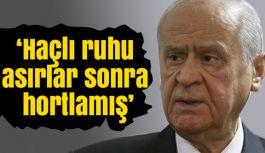 Bahçeli; Türkiye siyasi saiklerle itilip kakılacak bir ülke değildir