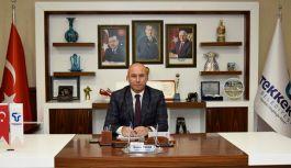 Başkan Togar'dan Miraç Kandili kutlama mesajı