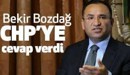 Bekir Bozdağ'dan CHP'ye cevap