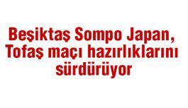 Beşiktaş Sompo Japan, Tofaş maçı hazırlıklarını sürdürüyor