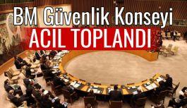 BM Güvenlik Konseyi acil toplandı