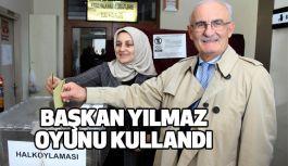 Büyükşehir Belediye Başkanı Yusuf Ziya Yılmaz Oyunu Kullandı