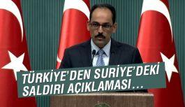 Cumhurbaşkanlığı'ndan Suriye açıklama!